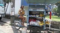 Ebony Colombian picked up and fucked - Carne Del Mercado Vorschaubild