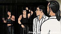 Archer Hentai - Jail sex with Lana thumbnail