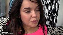 18 Year Old Latina Gets Fucked On Camera!