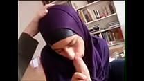 German Hijab Muslima Sucking Dick From 21CAMS.NET
