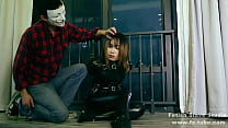 fx-tube.com Catsuit girl gagging tick's Thumb
