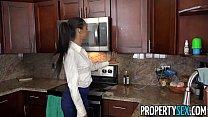 PropertySex - Dad fucks insane hot ass Latina real estate agent