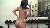 up bulk to try gym, the in nude posing vita's Teen