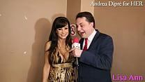 Lisa Ann: porn meeting with Andrea Diprè! Vorschaubild