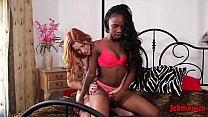 Edyn Blair, Sarah Banks Interracial Licking Ses...