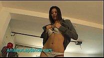 Exotic looking teen shows hot lapdance [체코 czech]