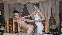 Massage Rooms Czech teen models in ultra hot sensual lesbian encounter Vorschaubild