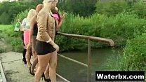 Perky Titty Fetish Chick Pissing Wild pornhub video