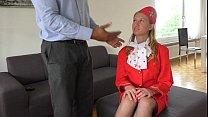 Dumb Russian Teen Air Hostess creampied at fakeflightagent thumbnail