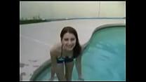 mi hermana masturbandose en la piscina
