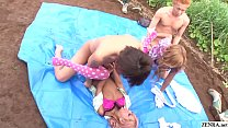 Uncensored JAV group of gyaru farm sex party Subtitles صورة