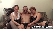 Hot Granny Threesome fuck fest [할머니 granny]