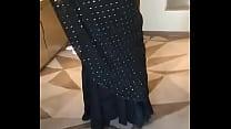 muslim rich lady riya black sari part 5 Thumbnail
