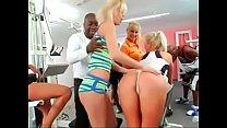 interracial anal orgy