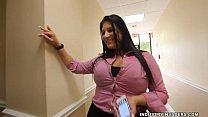 Kim Cruz Thick Latina gives BBC Blowjob in her Office صورة