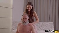 DADDY4K. Teen babe tells a story about her daddy porn experience - download porn videos
