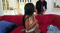 BANGBROS - Black Girl keeps her job by Sucking his Cock thumbnail