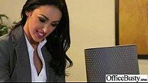 Office Girl (breanne benson) With Big Melon Tits Love Sex movie-21