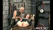 Large boobs babe hard fucked in extreme thraldom xxx scenes porn image