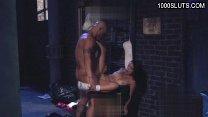 Hot student sucking huge cock