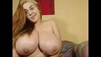 Huge Tits On Beautiful Webcam Girl Smoking's Thumb