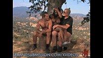 Ebony sub and two white masters pornhub video