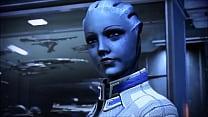 Mass Effect - Liara T'soni And Female Shepard Romance - Compilation