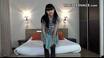 18 years old  teen Luna first nude casting Vorschaubild