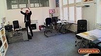 Rimming the petite Asian Milf Co-worker in the office Vorschaubild