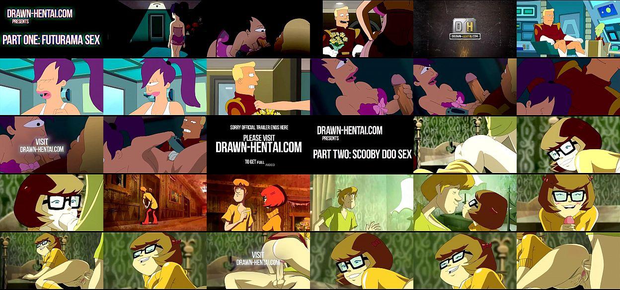 Images de sexe de dessin animé Scooby Doo