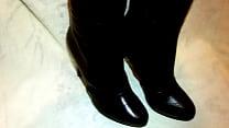 Cum On Girlfriend's Boots