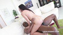 Evelina Dellai real anal Interracial training with rough oral sex & swallow Vorschaubild
