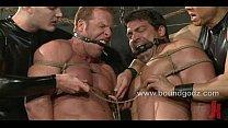 Bodybuilder Derek Pain and Vince Ferelli