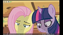 Three Curious Ponies