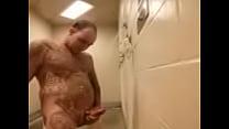 Hot prison shower