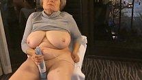 BEST mature 12 orgasms hotel window curvy exhibitionist MarieRocks thumbnail