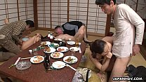 Neighborhood slut Kiyoha Himekawa and her friends have an orgy - 9Club.Top