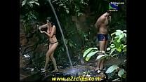 Model Negar Khan Taking Bath (Iss Jungle Se Mujhe Bachao)