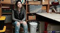 Big ass teen stepdaughter thief caught stealing stuff