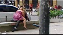 Casal é flagrado transando (Gomes Freire) / Couple having sex in downtown Rio.