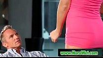 Busty Jasmine Jae gives blowjob before massage - 9Club.Top