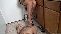Megan Foxx Gets Her Feet Worshiped