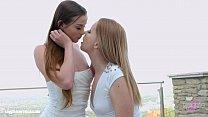 Lovemaking the lesbian way with Chloe Celestine and Kiara Night on Sapphic Eroti pornhub video