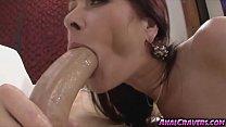 Luscious Tiffany Mynx sucking huge meaty hard pole pornhub video