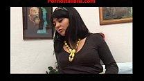porn show of horny brunette porno show della ra...