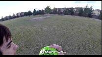 HD MenPOV - Hot Rikk picks up his next fuck at the park