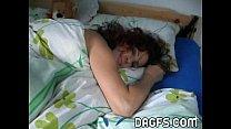 Bedroom amateur MILF striptease