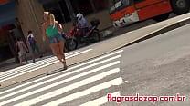 Seguindo a loira de shortinho cavado nas ruas de São Paulo! ⁃ lesbian naruto hentai thumbnail