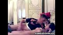 Arab couple turns sensual foreplay into awesome...