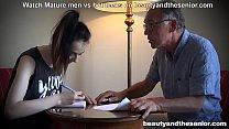 sruti hasan - Old English teacher grandpa fucks skinny eastern teen thumbnail